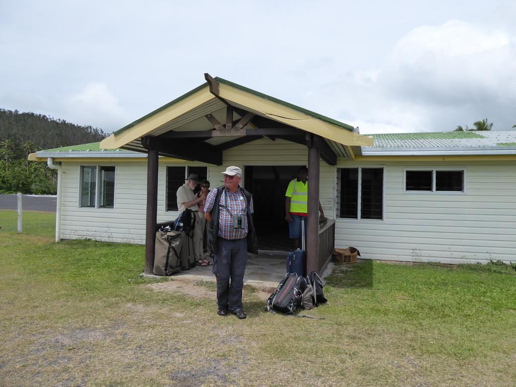 Kleiner Flughafen von Vunisea auf Kadavu