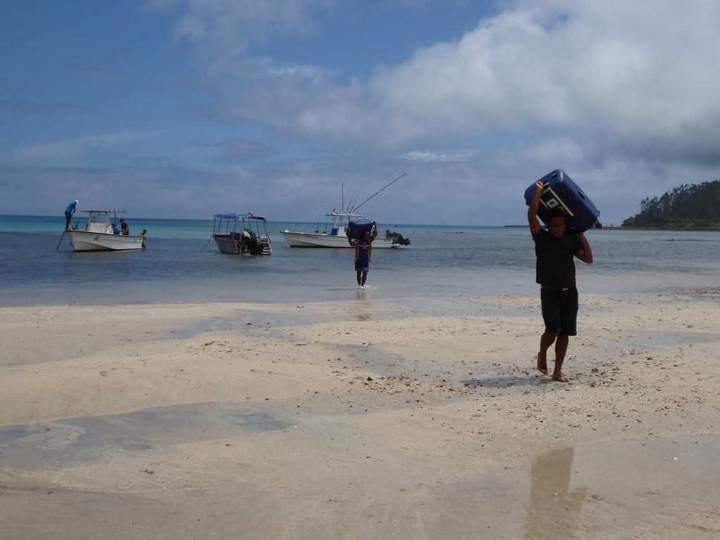 Einschiffung nach Kadavu