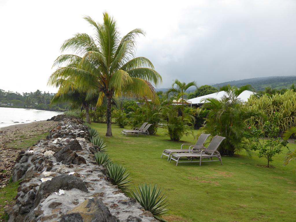 Garten des Aroha Taveuni Resort