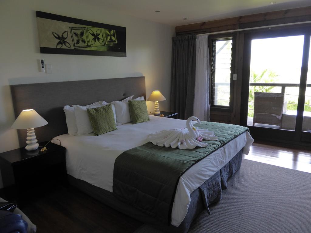 Zimmer im Aga Reef Resort Samoa