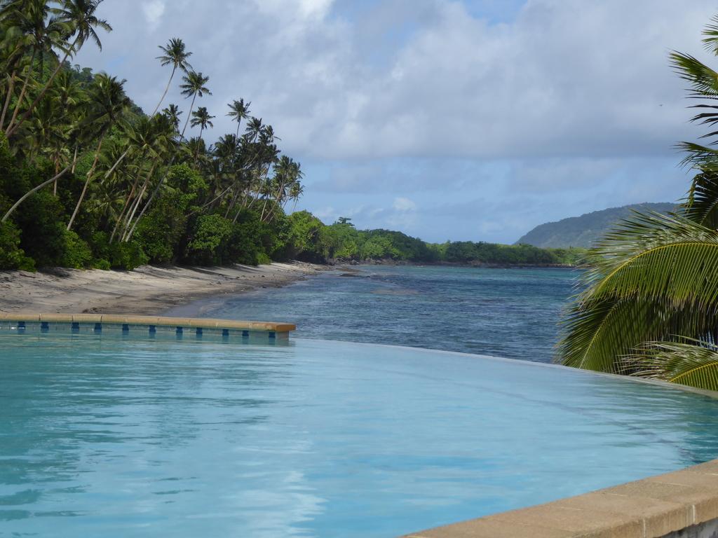 Pool im Aga Reef Resort Samoa