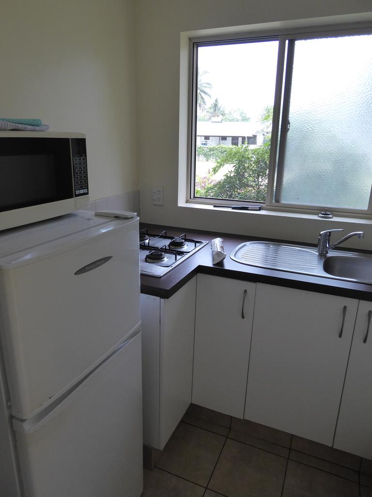 Küche im Hotel Palm Grove Cook Inseln Rarotonga