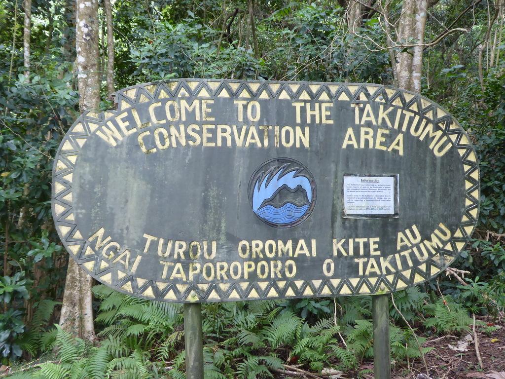 Takitumu Conservation Area Cook Inseln Rarotonga