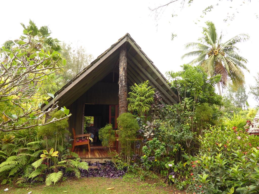 Bungalow der Atiu Villas Cook Inseln