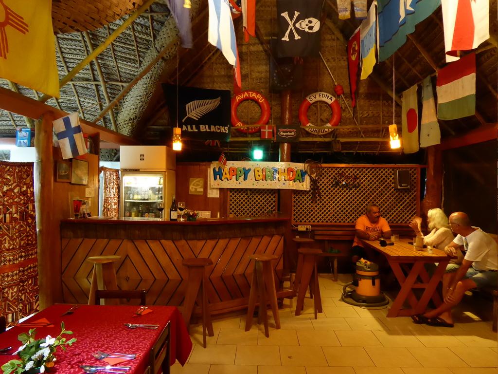 Einziges Restaurant in Atiu