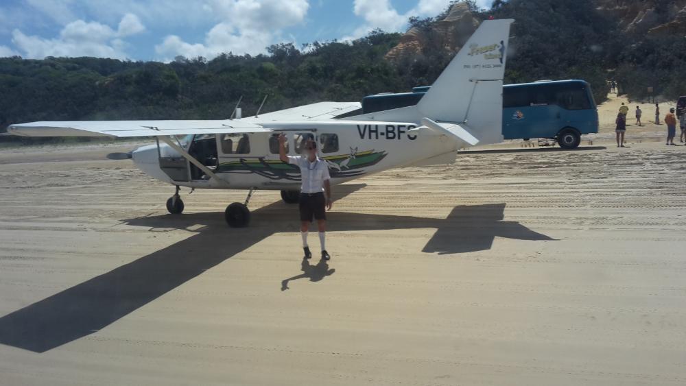 Kleinflugzeug Australien