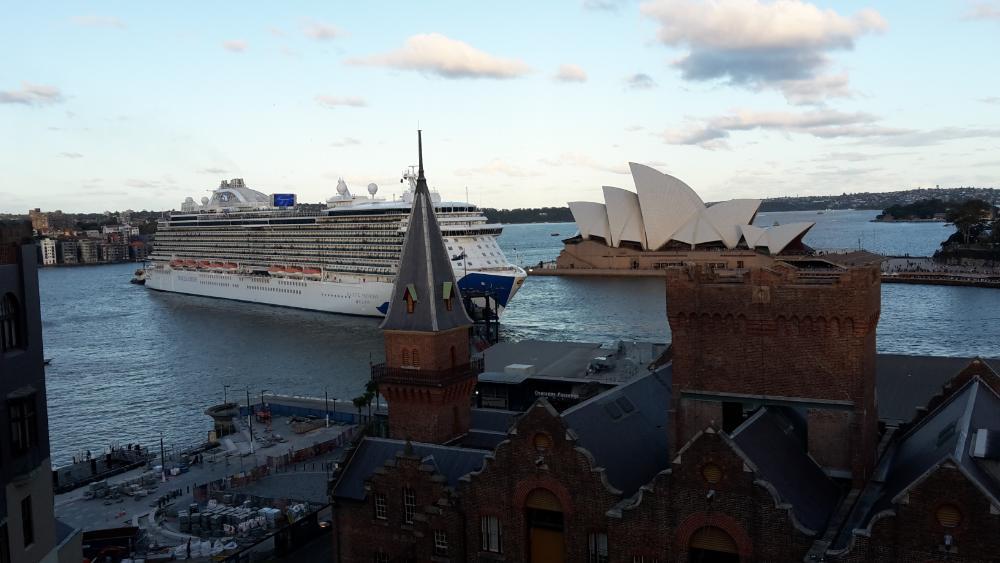 Blick auf Sydney