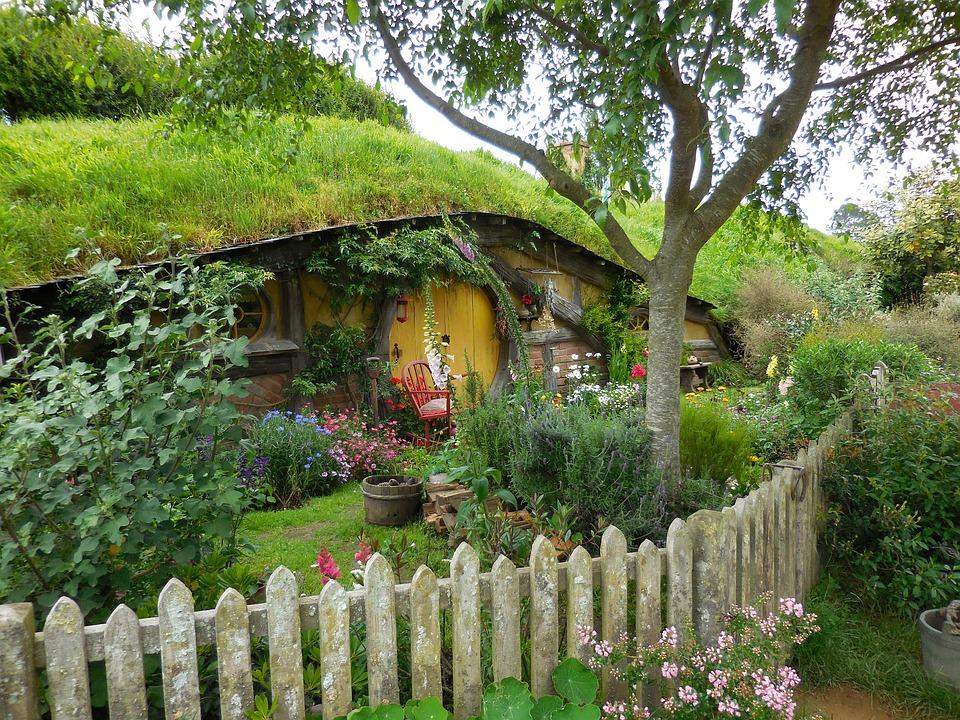 Hütte in Hobbiton