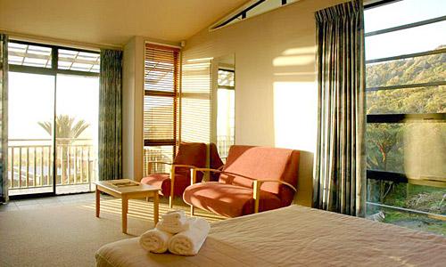 Zimmer im Punakaiki Resort Hotel