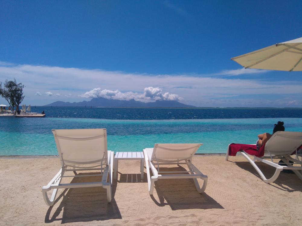 Hotelstrand Tahiti
