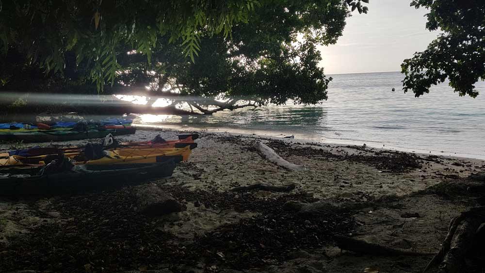 Kajaktour in Palau