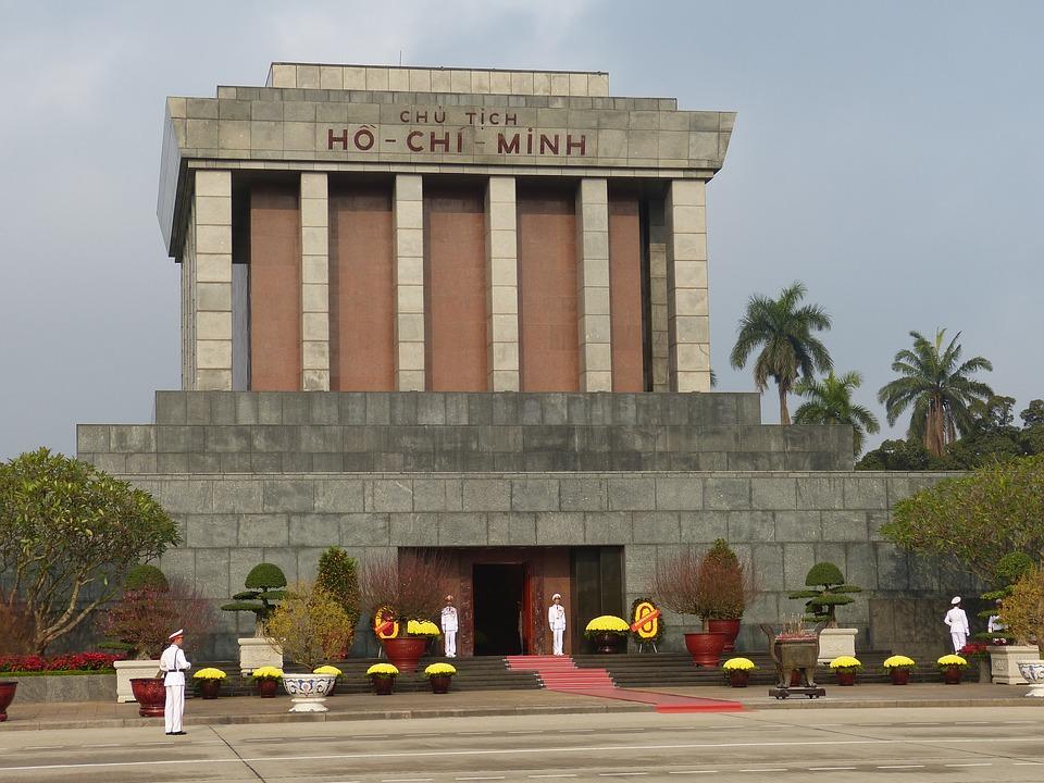 Mausoleum von Präsident Ho Chi Minh