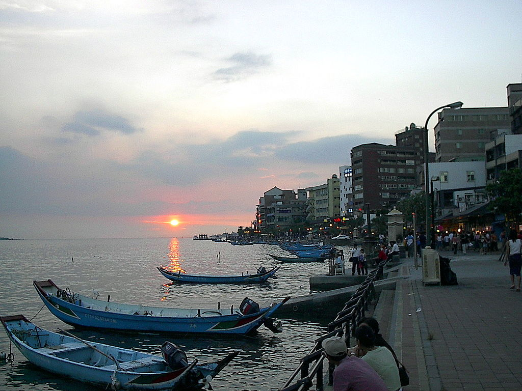 Hafen in Tamsui