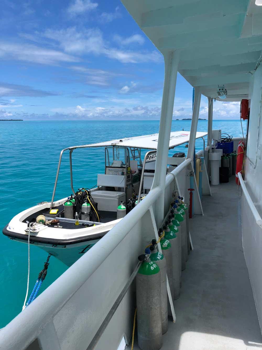 Kleines Tauchboot Palau