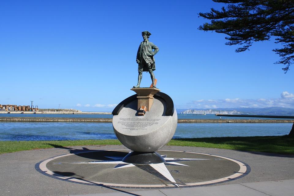 Denkmal für James Cook im neuseeländischen Gisborne