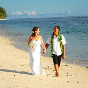 Hochzeit auf den Cook Inseln