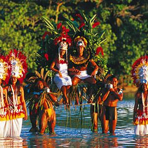 Hochzeit in Französisch-Polynesien